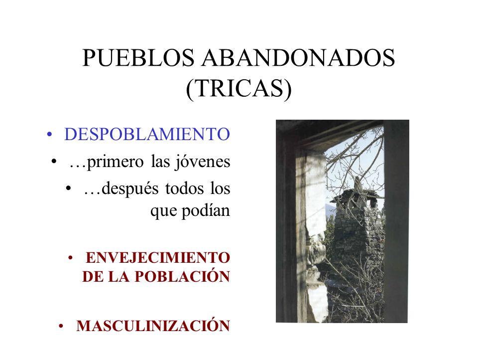 PUEBLOS ABANDONADOS (TRICAS)