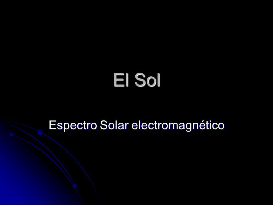 Espectro Solar electromagnético