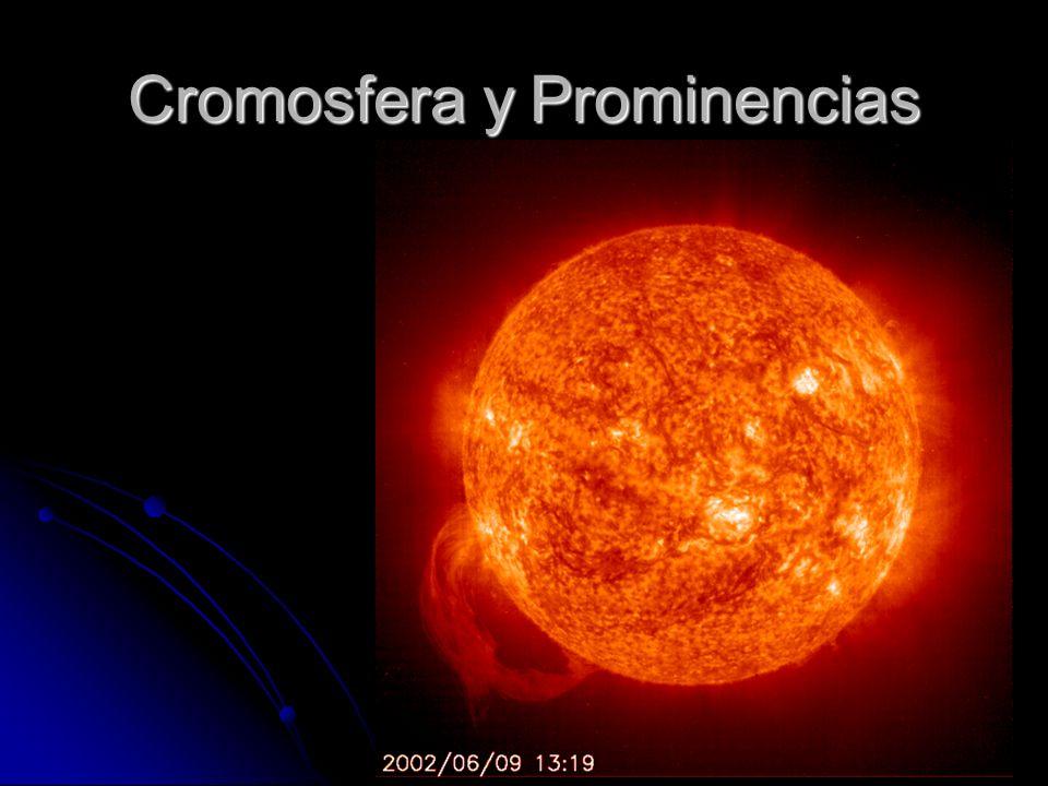 Cromosfera y Prominencias