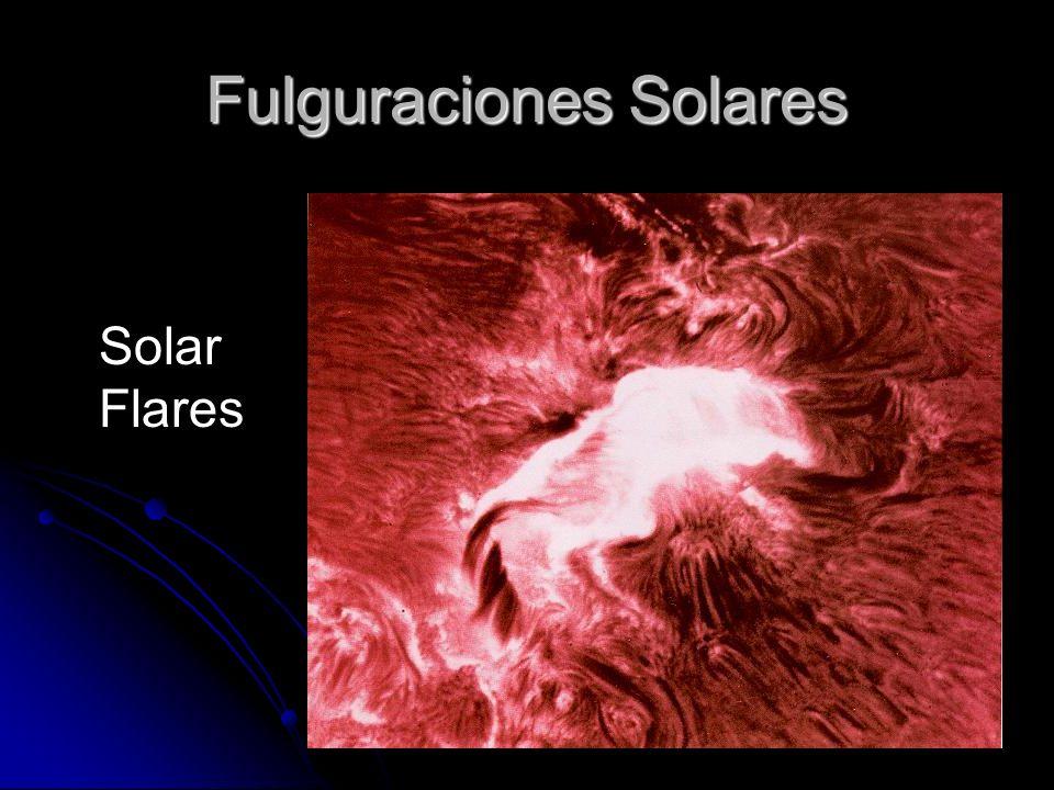 Fulguraciones Solares