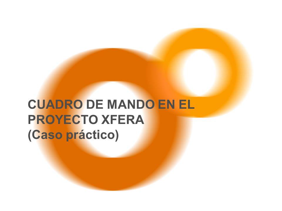 CUADRO DE MANDO EN EL PROYECTO XFERA (Caso práctico)