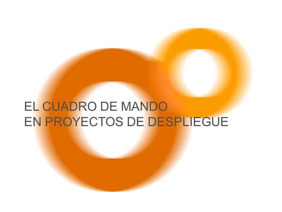 EL CUADRO DE MANDO EN PROYECTOS DE DESPLIEGUE