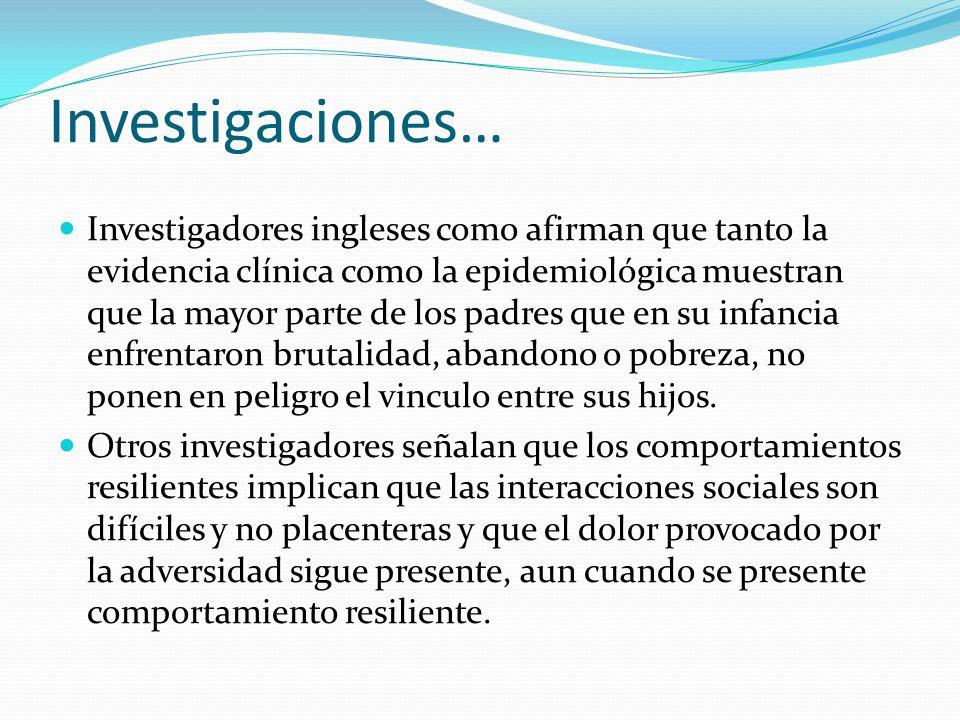 Investigaciones…