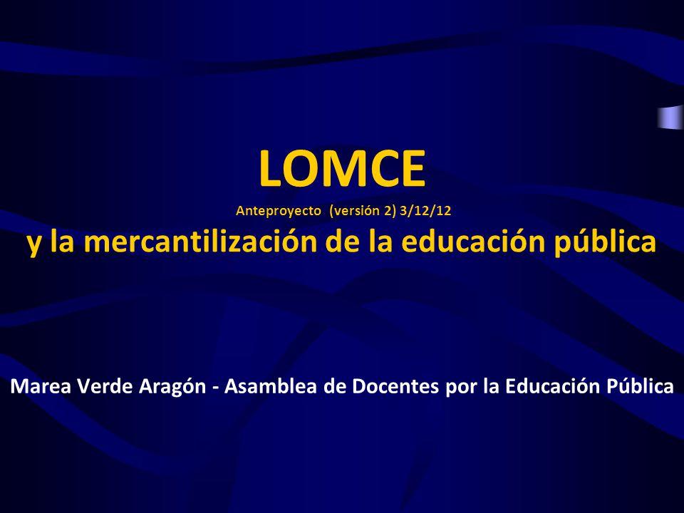 Marea Verde Aragón - Asamblea de Docentes por la Educación Pública