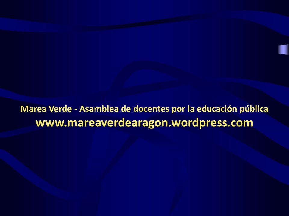 Marea Verde - Asamblea de docentes por la educación pública