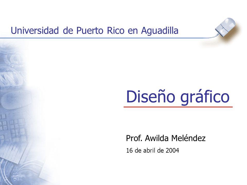 Diseño gráfico Universidad de Puerto Rico en Aguadilla