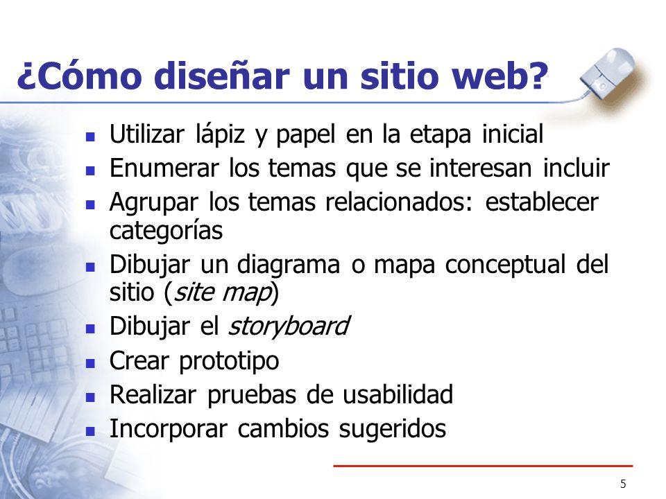 ¿Cómo diseñar un sitio web