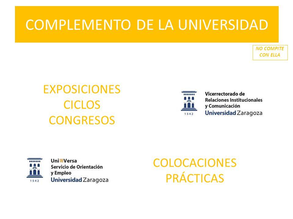 COMPLEMENTO DE LA UNIVERSIDAD