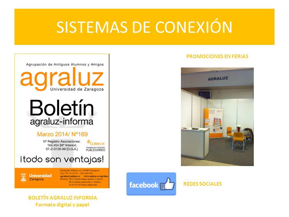 BOLETÍN AGRALUZ INFORMA Formato digital y papel