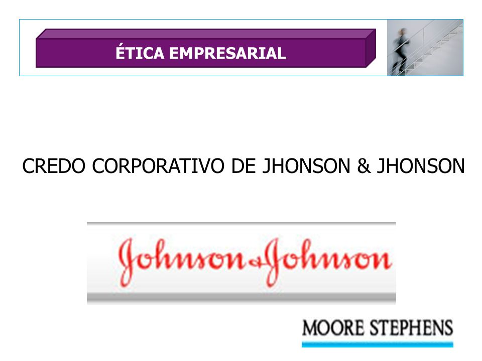 CREDO CORPORATIVO DE JHONSON & JHONSON