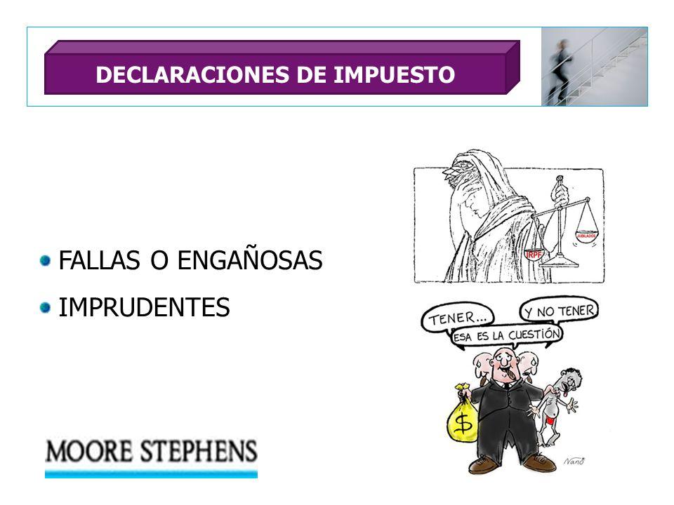 DECLARACIONES DE IMPUESTO