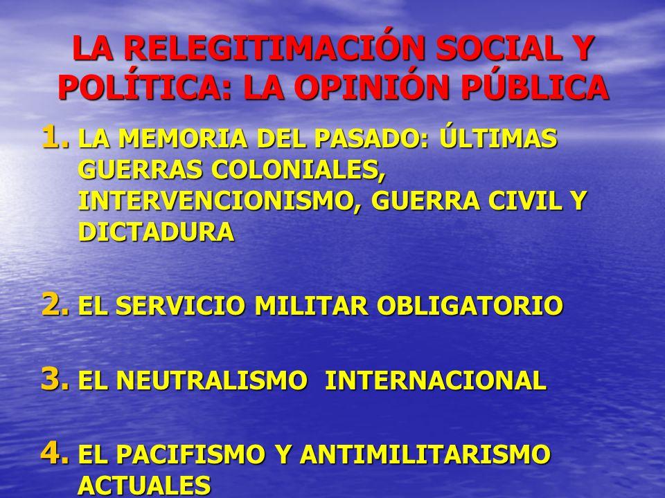 LA RELEGITIMACIÓN SOCIAL Y POLÍTICA: LA OPINIÓN PÚBLICA
