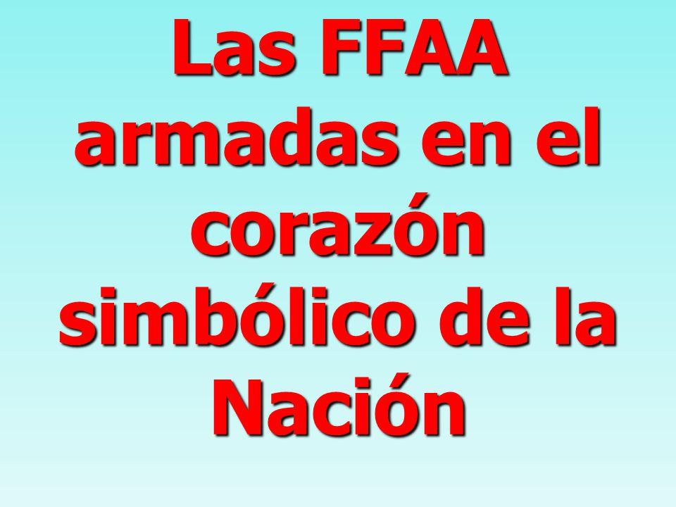 Las FFAA armadas en el corazón simbólico de la Nación