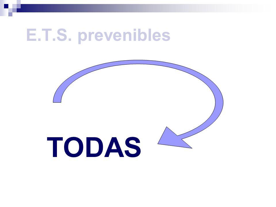 E.T.S. prevenibles TODAS
