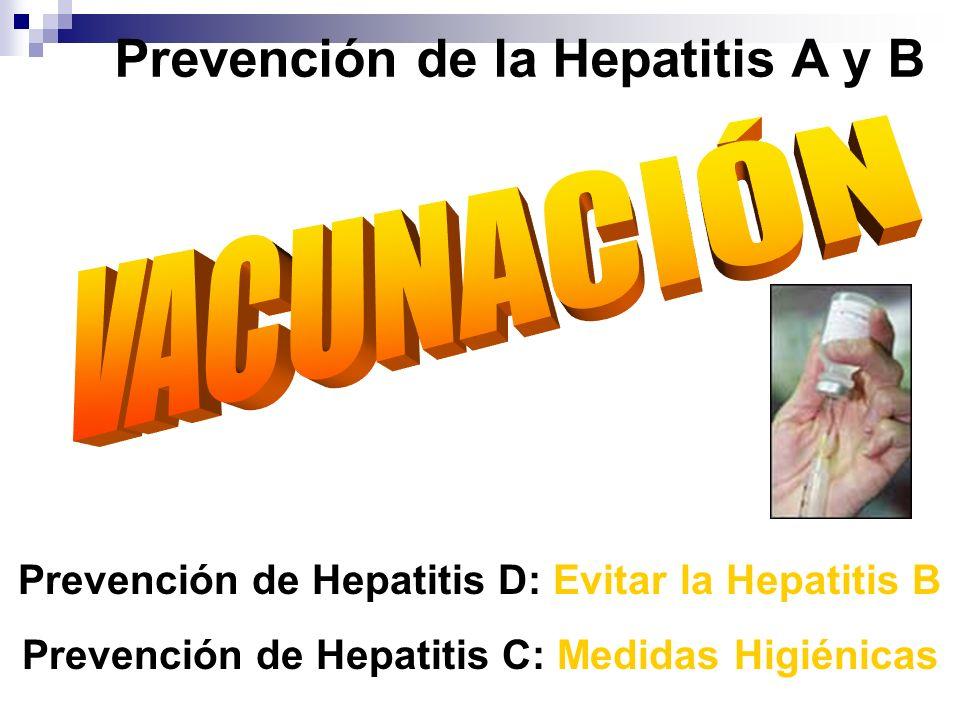 Prevención de la Hepatitis A y B