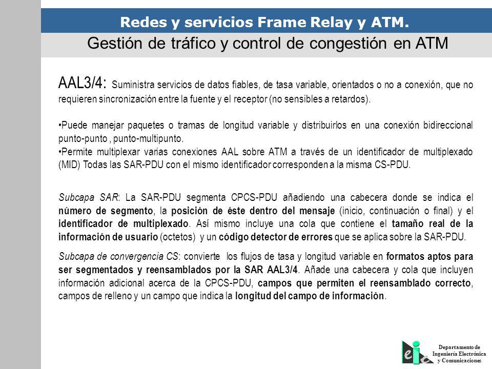 Gestión de tráfico y control de congestión en ATM