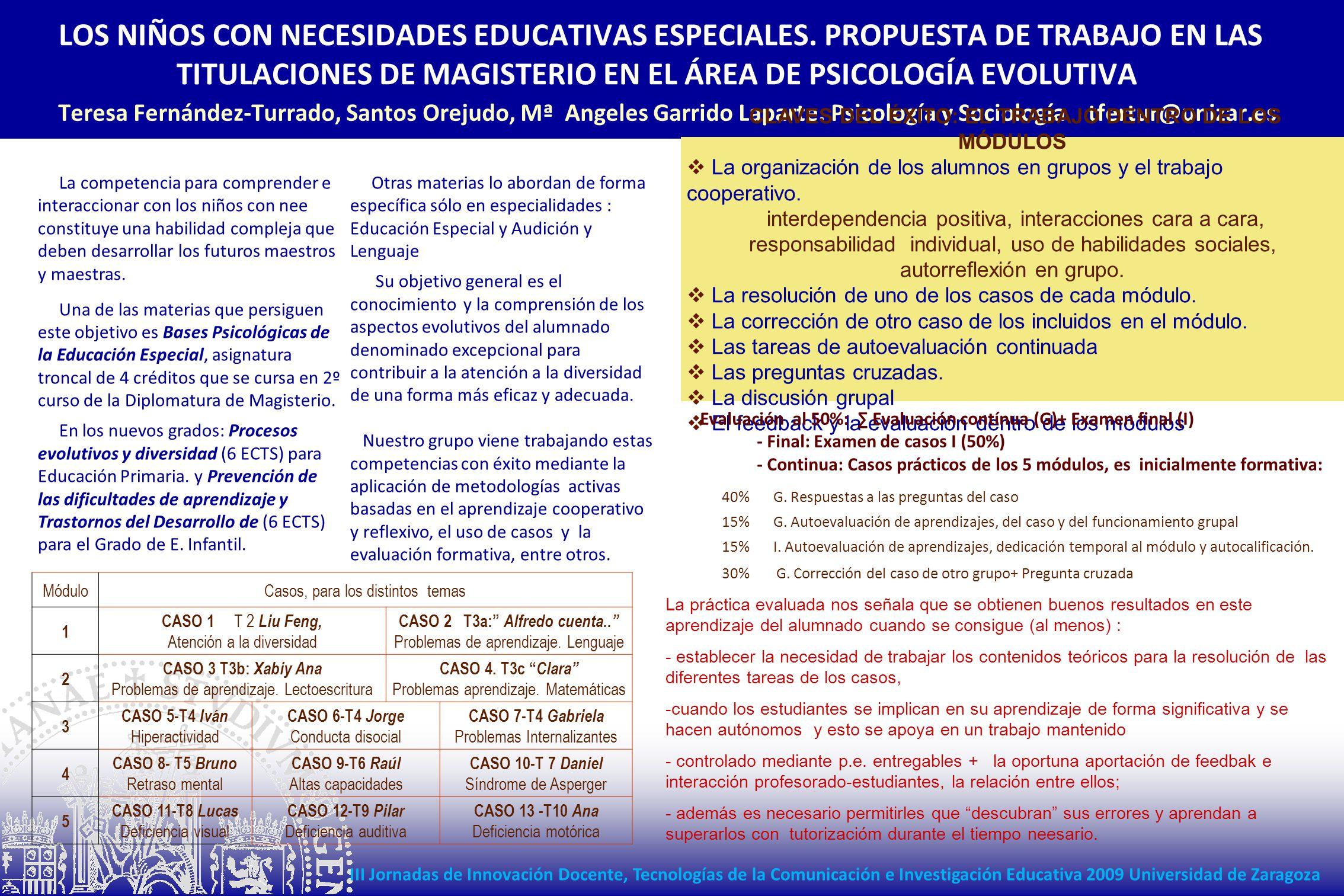 LOS NIÑOS CON NECESIDADES EDUCATIVAS ESPECIALES