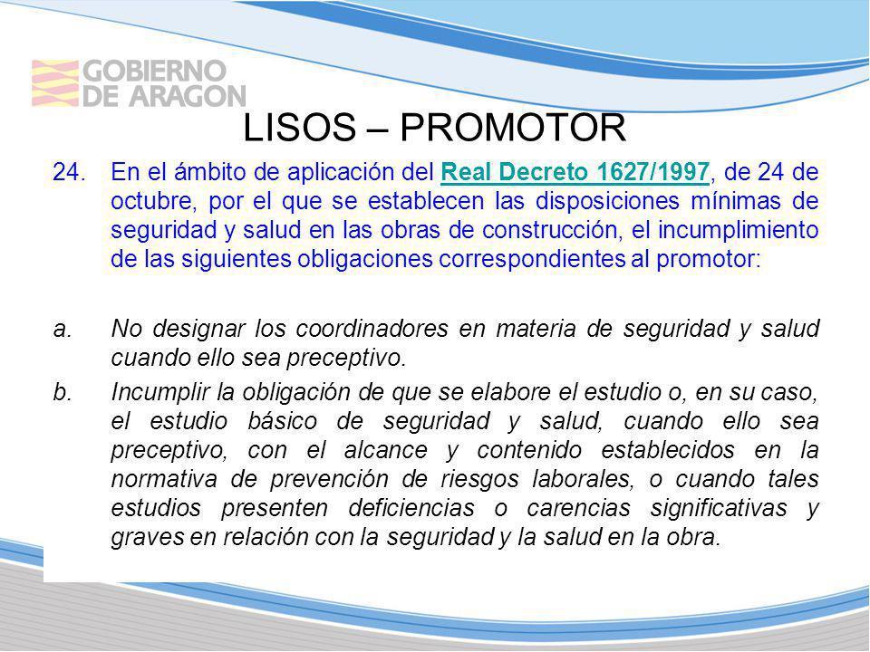 LISOS – PROMOTOR