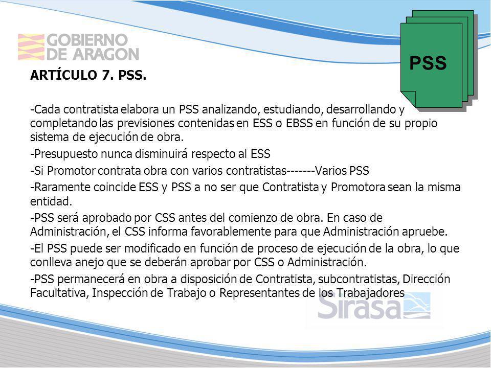PSS ARTÍCULO 7. PSS.