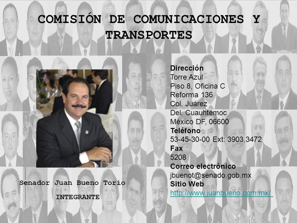COMISIÓN DE COMUNICACIONES Y TRANSPORTES