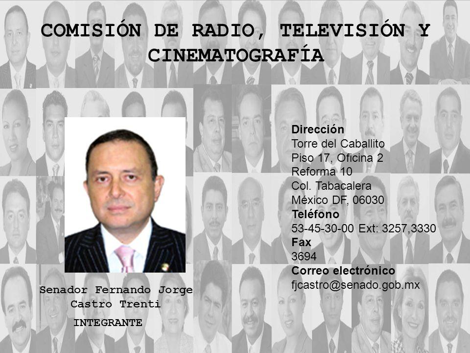 COMISIÓN DE RADIO, TELEVISIÓN Y CINEMATOGRAFÍA