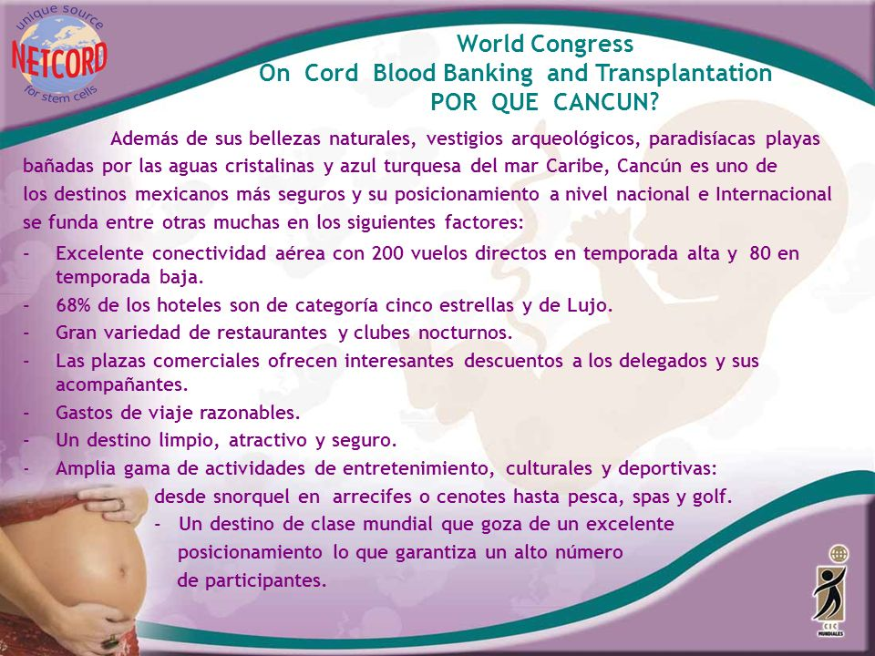 World Congress POR QUE CANCUN