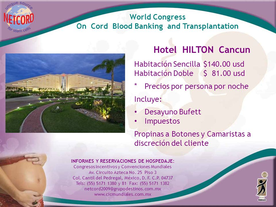 Hotel HILTON Cancun World Congress
