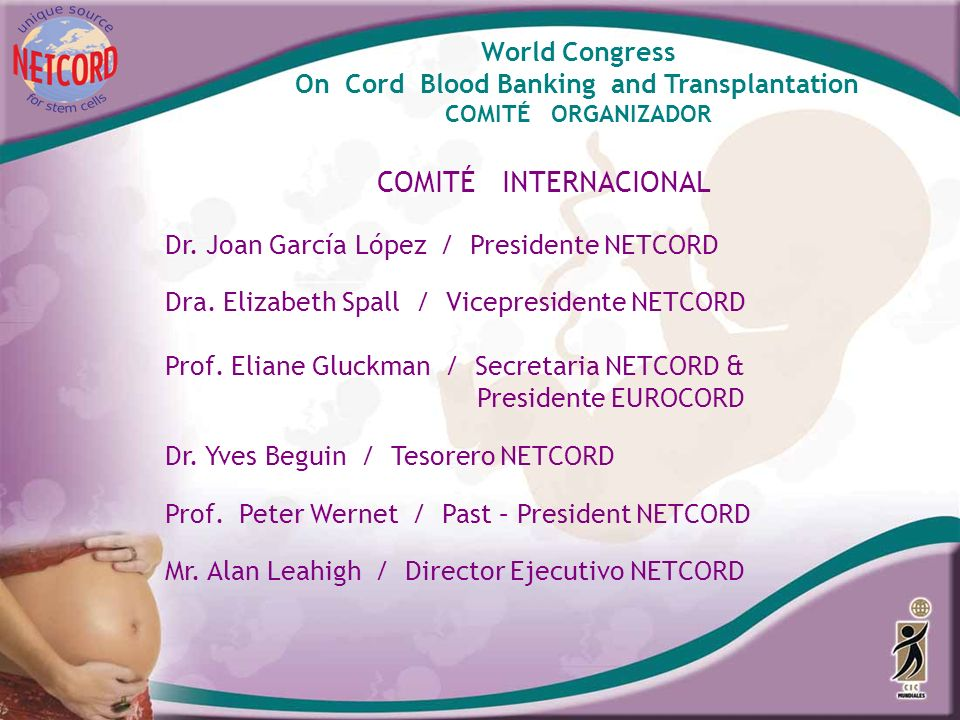 COMITÉ INTERNACIONAL World Congress