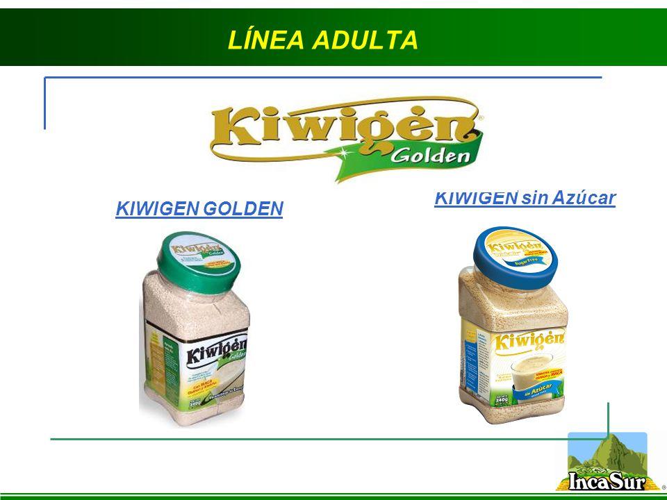 LÍNEA ADULTA KIWIGEN GOLDEN KIWIGEN sin Azúcar