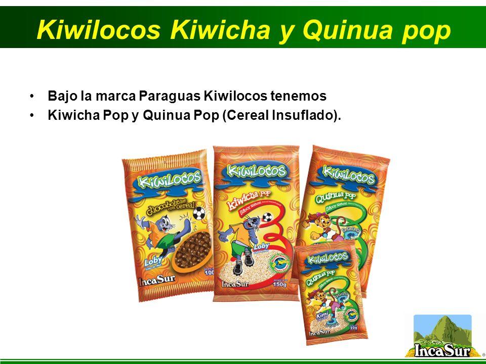 Kiwilocos Kiwicha y Quinua pop