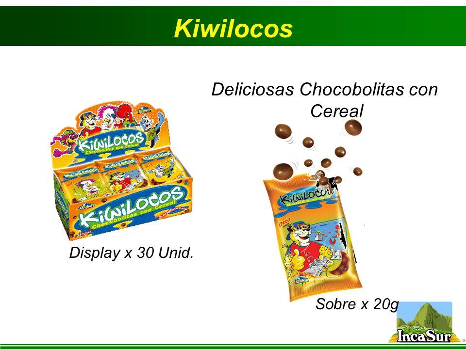 Deliciosas Chocobolitas con Cereal