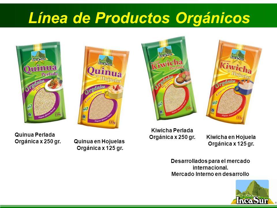 Línea de Productos Orgánicos
