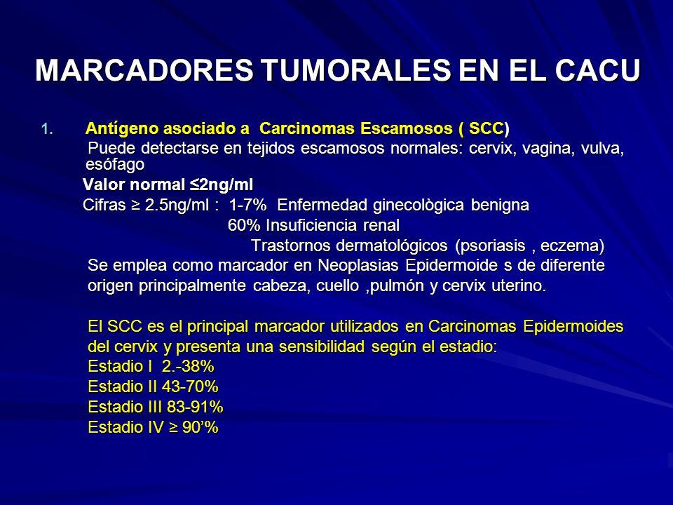MARCADORES TUMORALES EN EL CACU