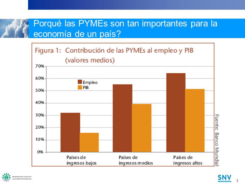 Porqué las PYMEs son tan importantes para la economía de un país
