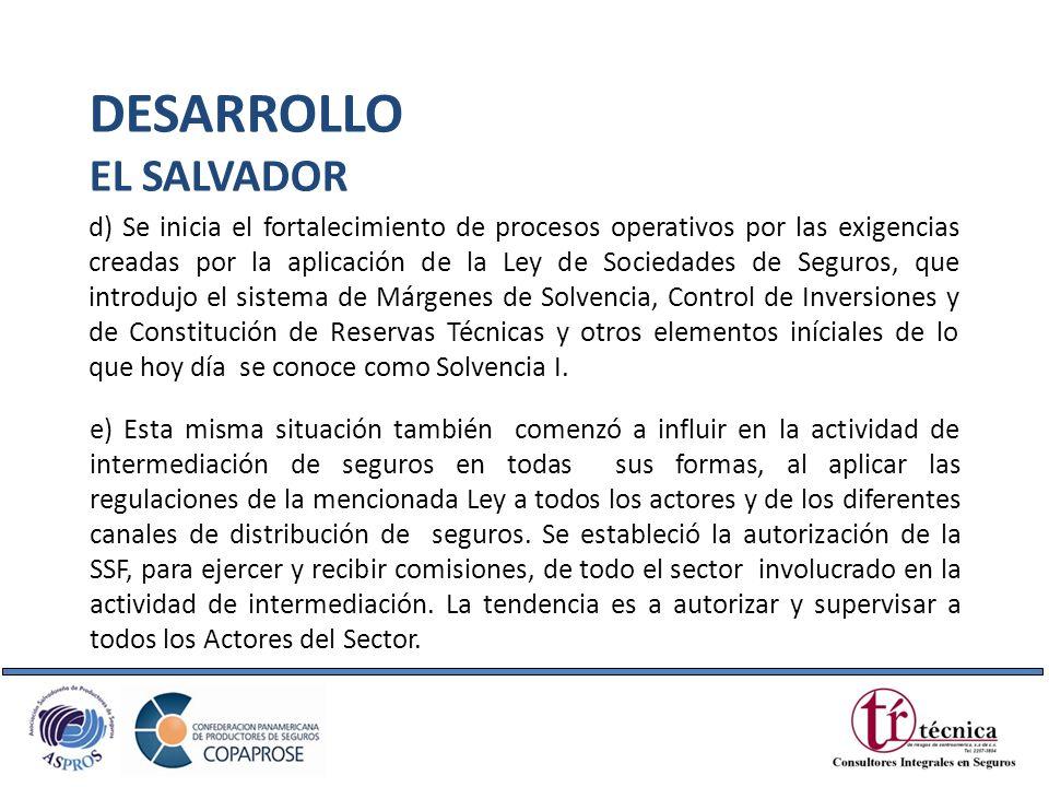 DESARROLLO EL SALVADOR