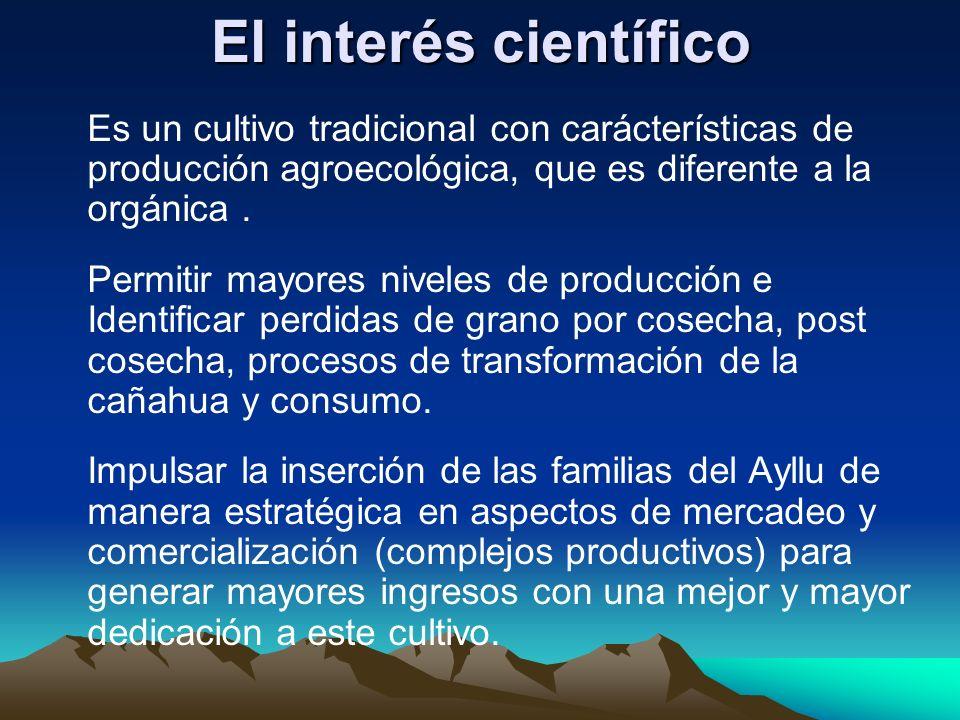 El interés científico
