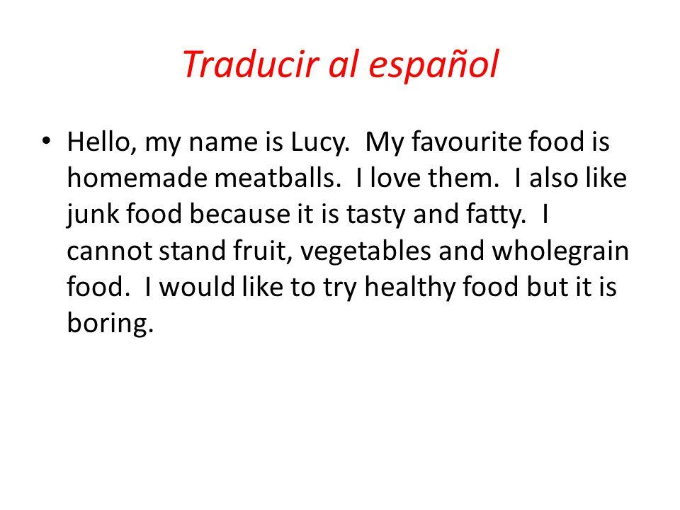 Traducir al español