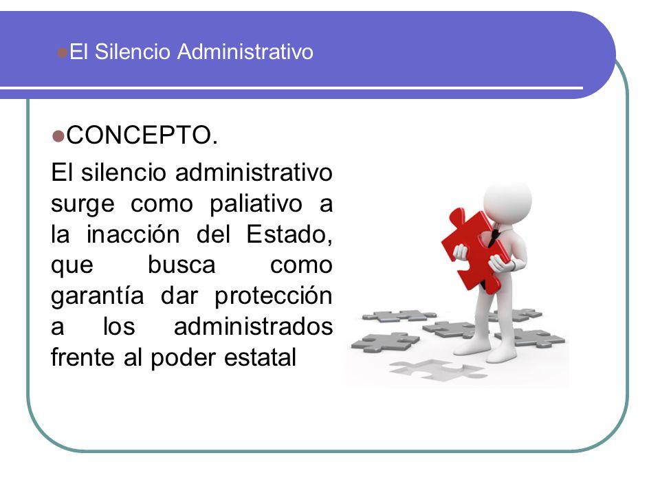 El Silencio Administrativo