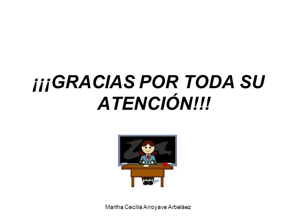 ¡¡¡GRACIAS POR TODA SU ATENCIÓN!!!