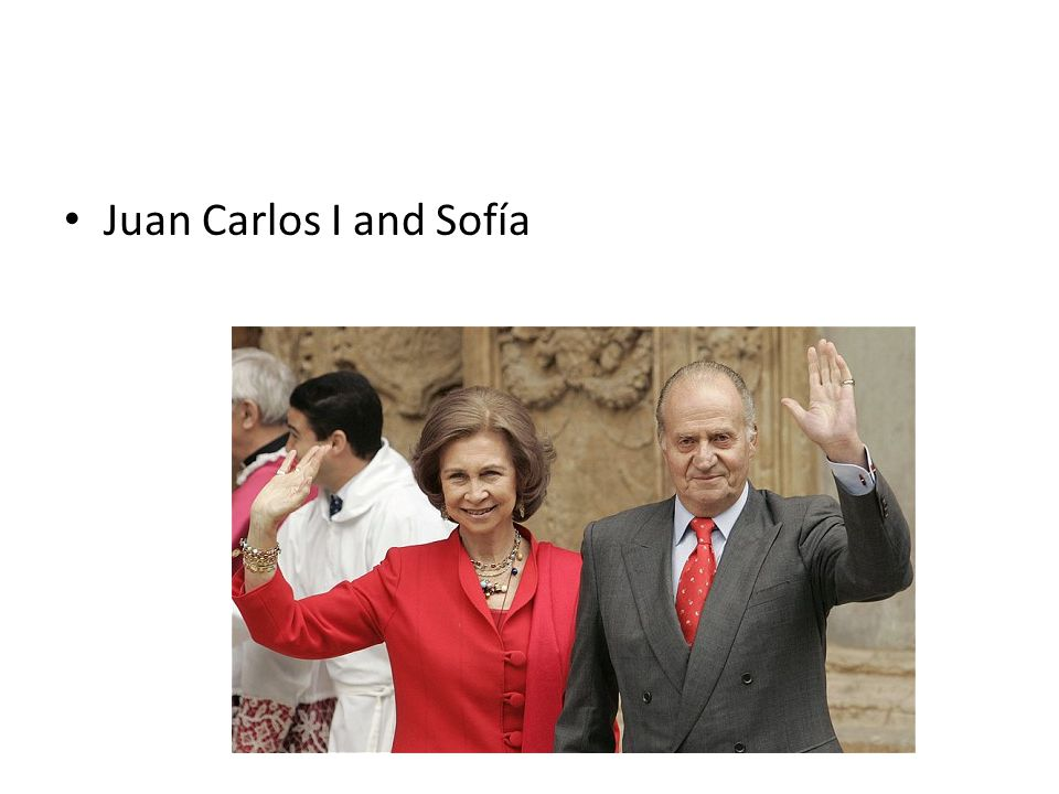 Juan Carlos I and Sofía