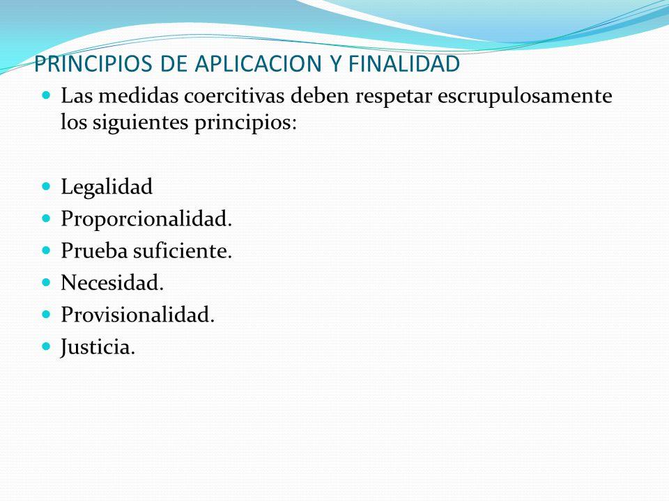 PRINCIPIOS DE APLICACION Y FINALIDAD