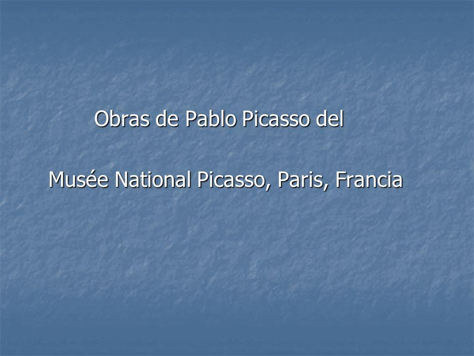 Obras de Pablo Picasso del