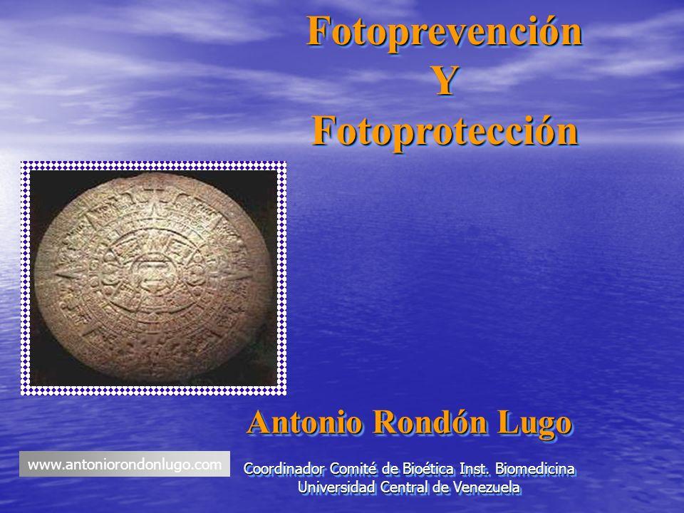 Fotoprevención Y Fotoprotección