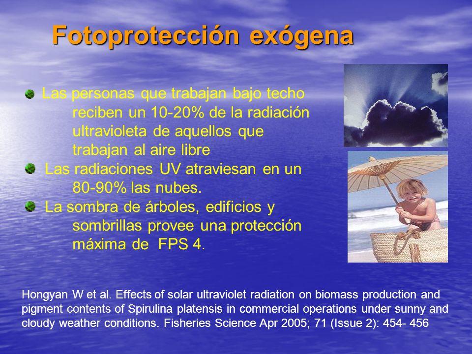 Fotoprotección exógena
