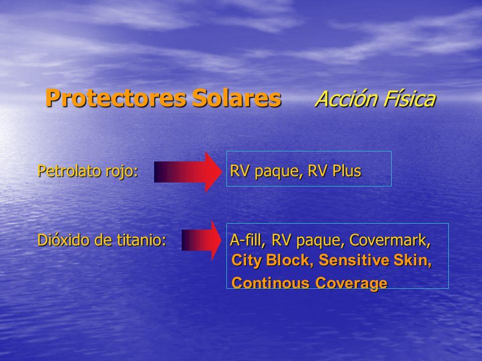 Protectores Solares Acción Física