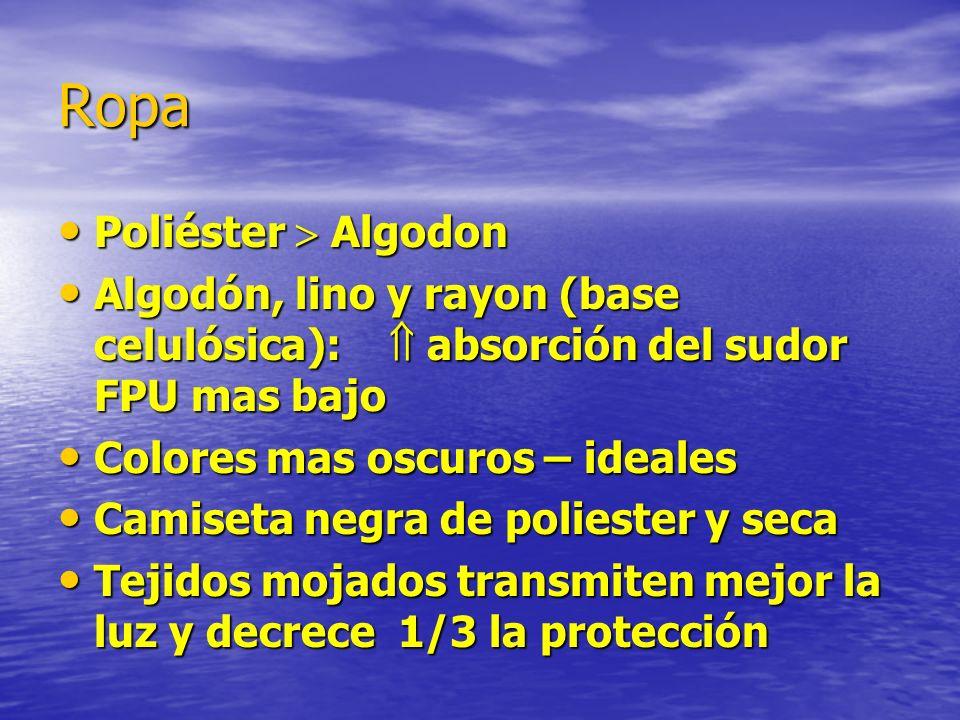 Ropa Poliéster  Algodon