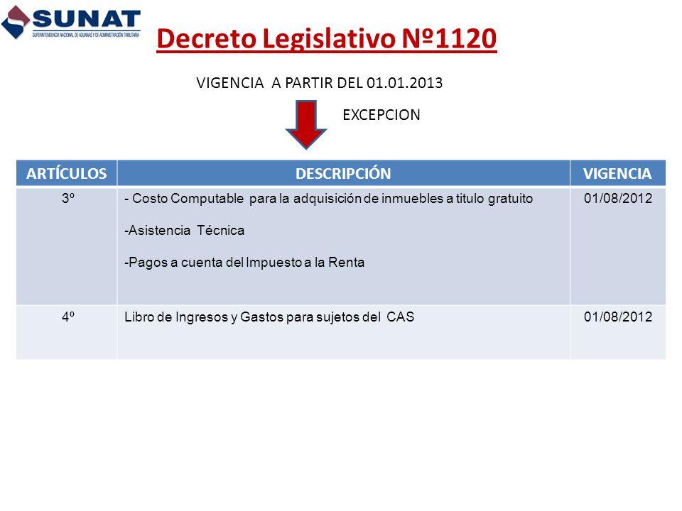 Decreto Legislativo Nº1120