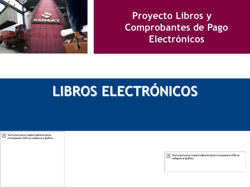 Proyecto Libros y Comprobantes de Pago Electrónicos