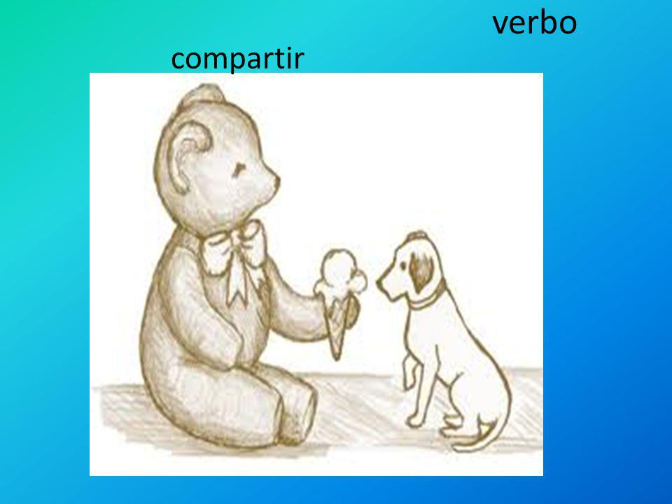 verbo compartir