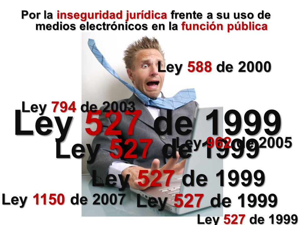 Ley 527 de 1999 Ley 527 de 1999 Ley 527 de 1999 Ley 527 de 1999